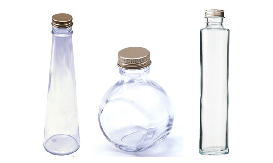 ハーバリウムの瓶は何種類あるの...