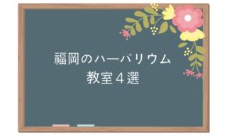 福岡のハーバリウム教室4選。作って楽しいレッスンはココ!